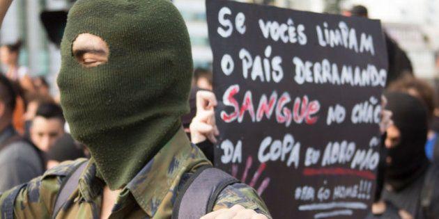 Copa do Mundo: Black bloc de SP promete