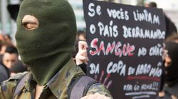 Imagina na Copa: black bloc de SP promete