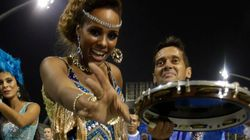 FOTOS: Musas e ritmistas no esquenta para os desfiles de SP e