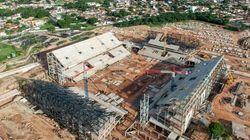 Arena Pantanal: danos estruturais podem comprometer estádio na