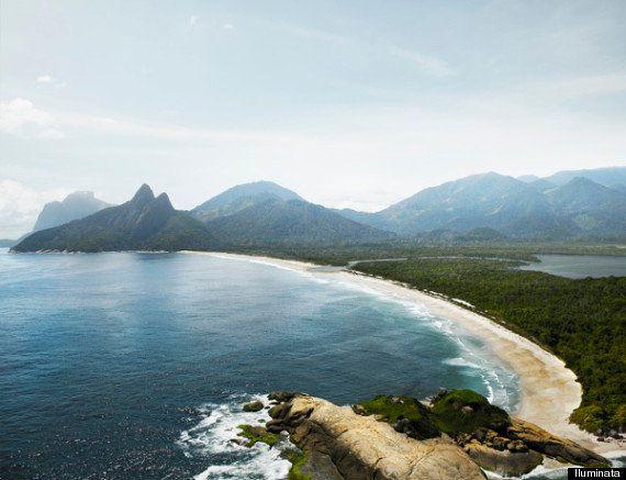Empresa cria imagens do Rio de Janeiro sem prédios