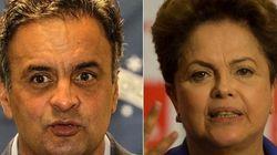 Aécio 51% x Dilma 49% dos votos válidos, dizem pesquisas Ibope e