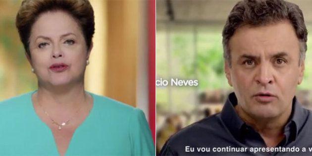 Volta ao passado x mudança com união: Dilma Rousseff e Aécio Neves mostram as suas armas no retorno da...