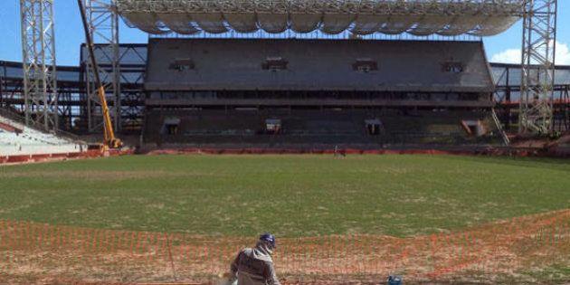 Copa do Mundo: estádio de Cuiabá pode ter sofrido danos