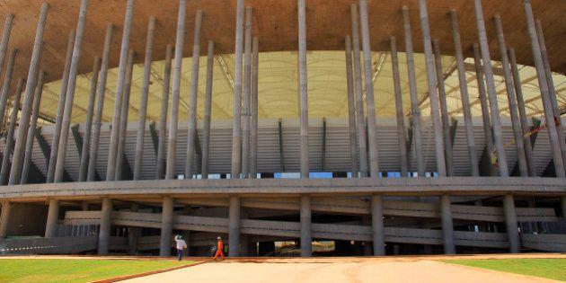 O Estádio Nacional Mané Garrincha receberá a partida de abertura da Copa das Confederações, em 15 de...