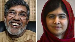 Malala e ativista indiano ganham o Nobel da