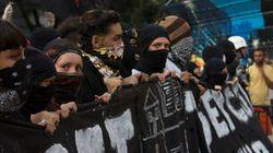 Mascarados envolvidos em violência nos protestos poderão pegar até dez anos de
