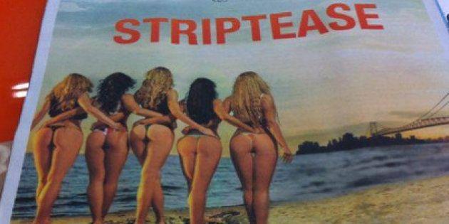 Diário Catarinense pede desculpas por anúncio de clube de striptease em caderno para