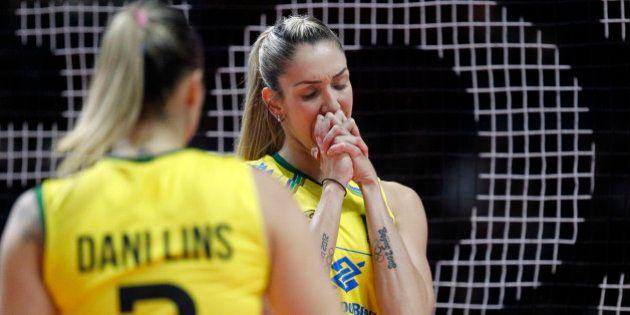 Brasil perde para os Estados Unidos e fica fora da final do Mundial de