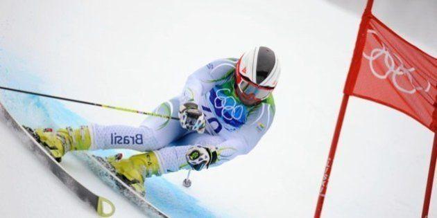 Jhonatan Longhi fica em 58º no slalom gigante em