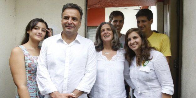 Com a benção da família de Eduardo Campos, Aécio Neves evita maioridade penal e abraça parte das demandas...