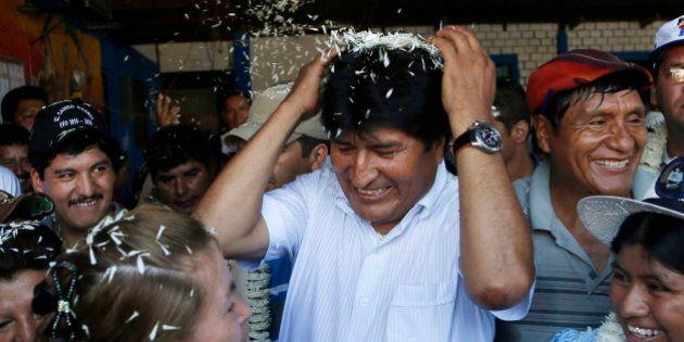 Boca de urna aponta vitória folgada de Evo Morales, que deve assegurar o seu 3º mandato seguido na
