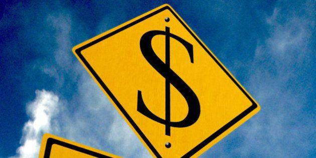 Money ahead -road