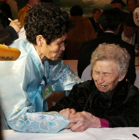 Famílias separadas por Guerra da Coreia se