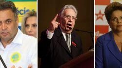 Aécio explora contradições na opinião de Dilma sobre