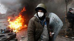 Presidente da Ucrânia levanta bandeira branca e anuncia eleições