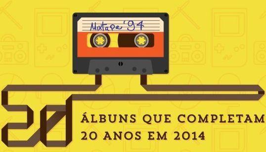 20 discos que completam 20 anos em 2014