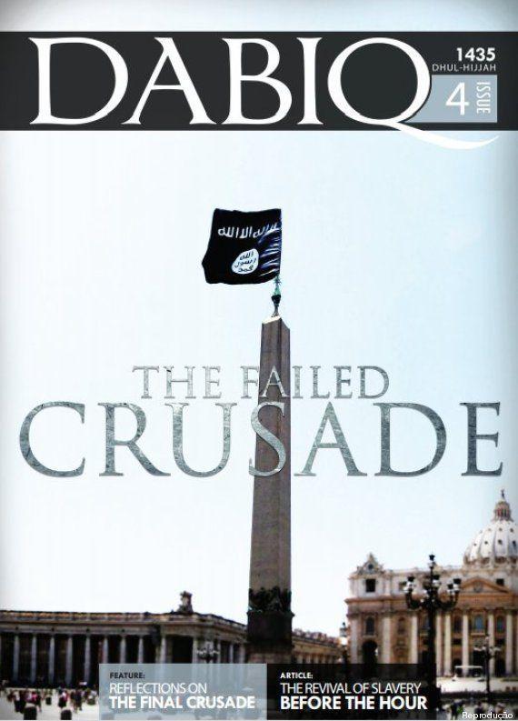 Em revista em inglês, Estado Islâmico defende escravização de mulheres e promete conquistar