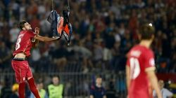 Rivais históricos, partida entre Sérvia e Albânia foi...