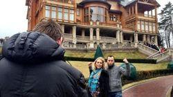FOTOS: Ucrânia: com presidente deposto, ucranianos fazem tour e se divertem pelos riquíssimos aposentos
