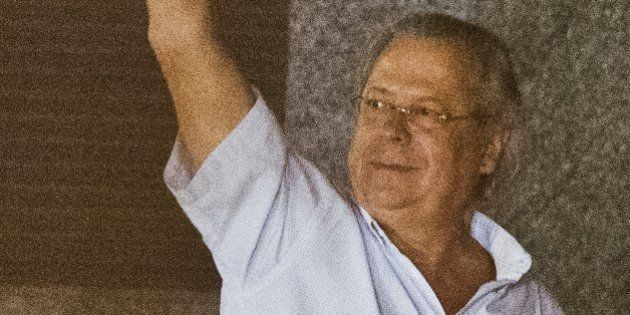 Jose Dirceu, former Chief of Staff of President Luiz Inacio Lula da Silva accused in the Mensalao scandal,...