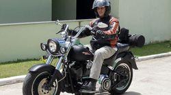 Easy Rider: Jefferson dá último rolê de moto antes da