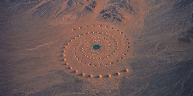Desert Breath: uma instalação artística no deserto do