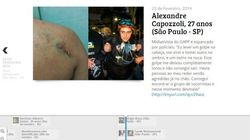Site sobre mortos e feridos nos protestos tem a melhor linha do tempo interativa que a gente já