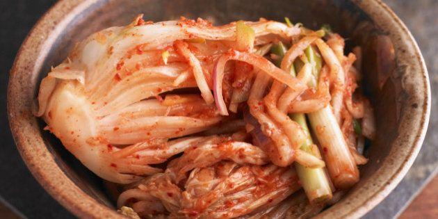 O kimchi atinge sua maturidade - com a ajuda das