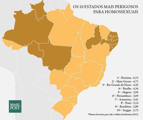 Os 10 piores estados do Brasil para ser negro, gay ou