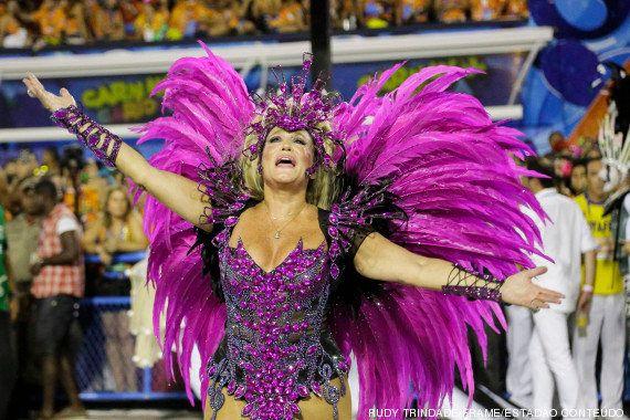 Carnaval 2014: Suzana Vieira desfilou em duas