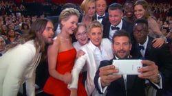 A controvérsia Samsung-iPhone por trás da selfie mais pop da história