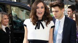 Este vestido da Keira Knightley é pura ilusão de ótica