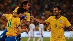 Tranquilidade: Brasil goleia a África do Sul com gols de Neymar, Oscar e