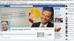 TSE manda tirar página 'Eduardo Campos Presidente' do