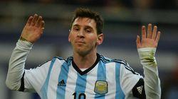 Messi: vômito não é normal, mas