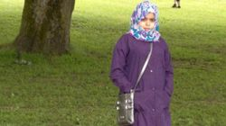 A vida de uma mulher na Arábia Saudita (usando hijab,