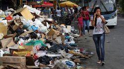 Greve dos garis no Rio de Janeiro: lixo acumulado pode provocar riscos à saúde dos