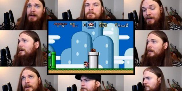 Smooth McGroove e as versões de clássicos do video game apenas com a voz