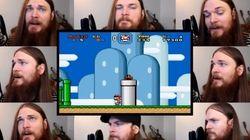 Nostalgia: temas clássicos de video games apenas com a