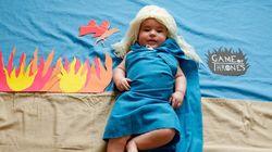 Fotógrafa veste Bebê como personagem de séries famosas da