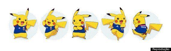 Copa 2014: Pikachu é o garoto propaganda da seleção