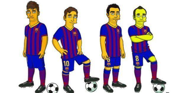 Craques do Barcelona ganham versões de