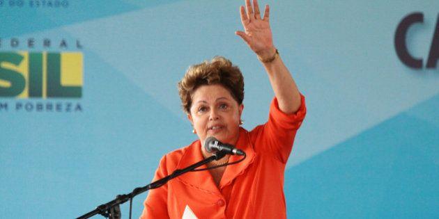 Dilma diz em evento que manifestantes 'nunca