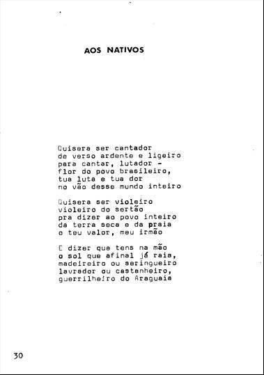 Poesia guerrilheira: os versos do