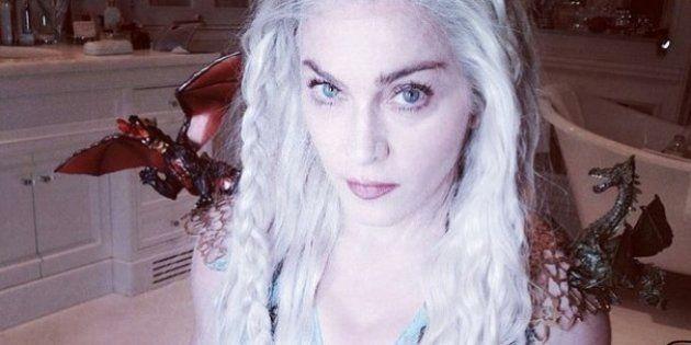 Madonna se veste de Daenerys Targaryen para celebrar feriado judaico