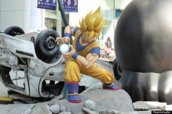 Personagens de Dragon Ball e One Piece