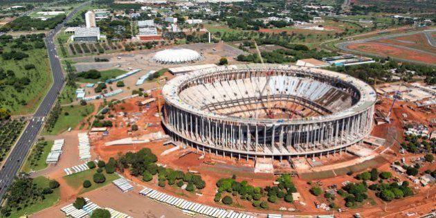 Brasília, Dezembro de 2012 - Obras do Estádio Nacional. (Foto: Portal da