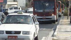 São Paulo fecha corredores de ônibus a táxis em horário de
