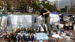 Soldados retomam praça palco de protestos em